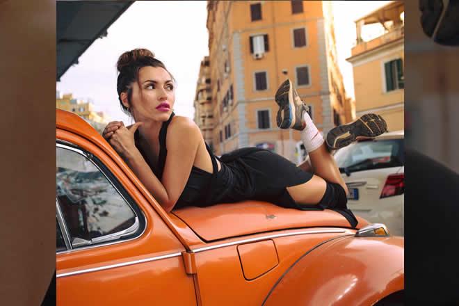 Serena Brancale ospite di ArtCity. Foto da Pagina Facebook.