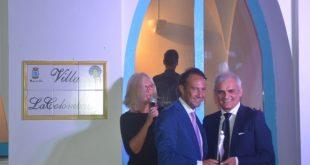 Antonio Centomani premiato ad Omaggio a Visconti