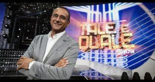 Carlo Conti presenta Tale e Quale Show. Foto dal Web.