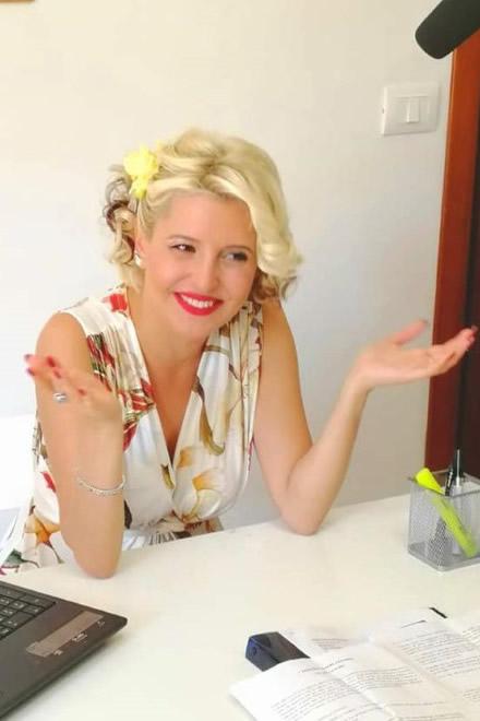 Costantina Busignani in una foto di scena