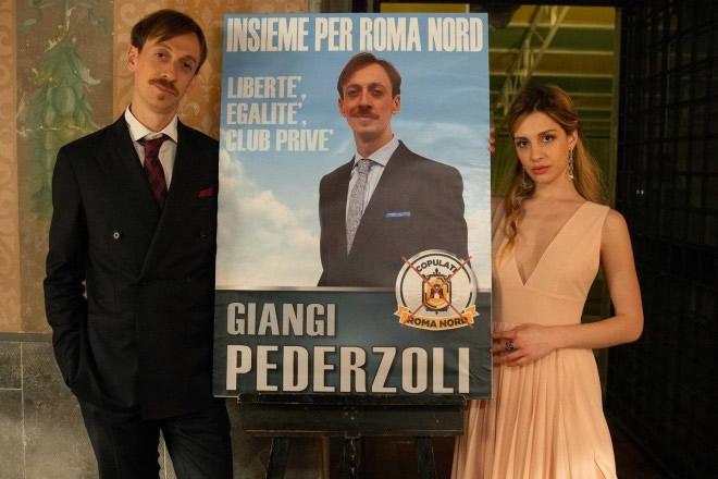 Da Romolo e Giuly, Niccolò Senni. Foto di Francesco Ormando