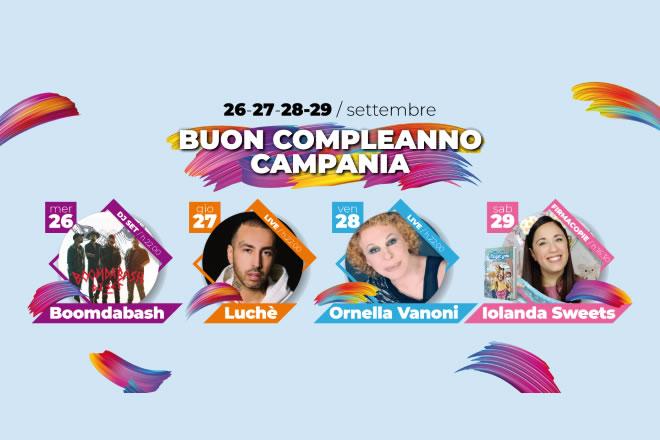 Eventi settembre al Centro Commerciale Campania