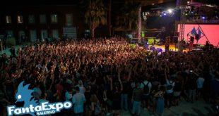 Giorgio Vanni in concerto a FantaExpo 2018. Foto da Ufficio Stampa