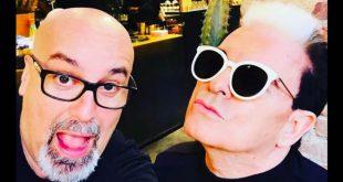 Giovanni Ciacci e Cristiano Malgioglio. Foto da Web