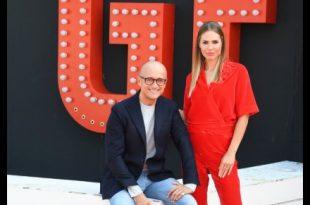 Ilary Blasi ed Alfonso Signorini per il Grande Fratello VIP 2018