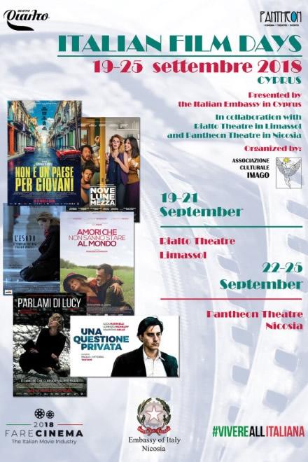 Italian Film Days 2018