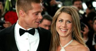 Jennifer Aniston e Brad Pitt. Foto dal Web