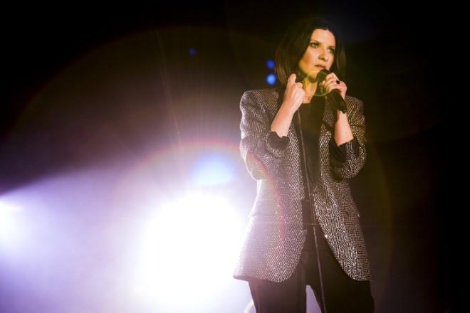 Laura Pausini live. Foto di Angelo Trani