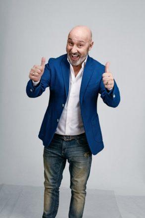 Maurizio Battista. Foto da ufficio stampa