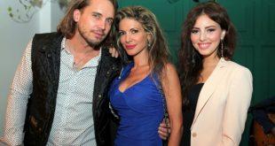 Raffaello Balzo con la fidanzata e Maria Monse per Clorofilla