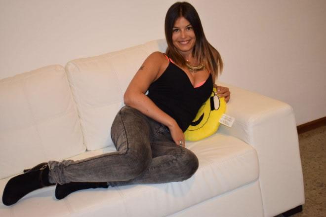 Sara Tommasi. Foto da Facebook