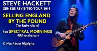 Steve Hackett - Tour Italia 2019