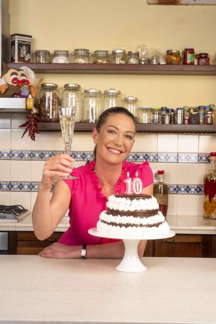 Tessa Gelisio per i 10 anni di Cotto e Mangiato. Foto da Ufficio Stampa