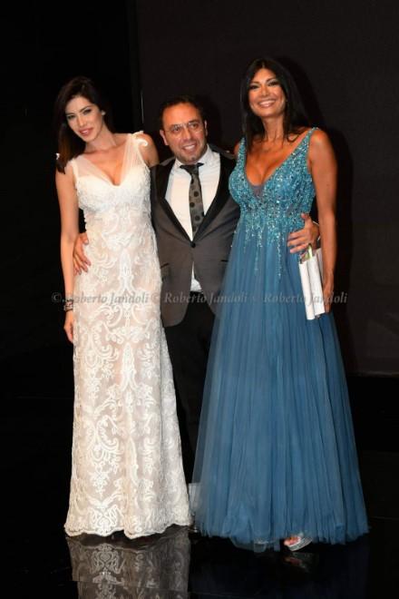 Aida Yespica, Marcello Corrado e Paola Mercurio