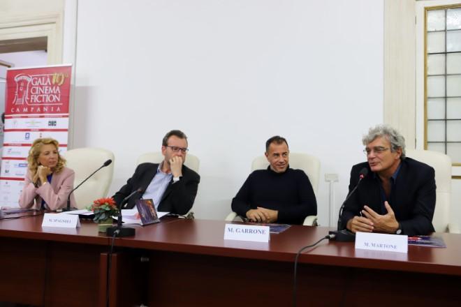 Conferenza Stampa a Roma della decima edizione del Gala Cinema e Fiction in Campania