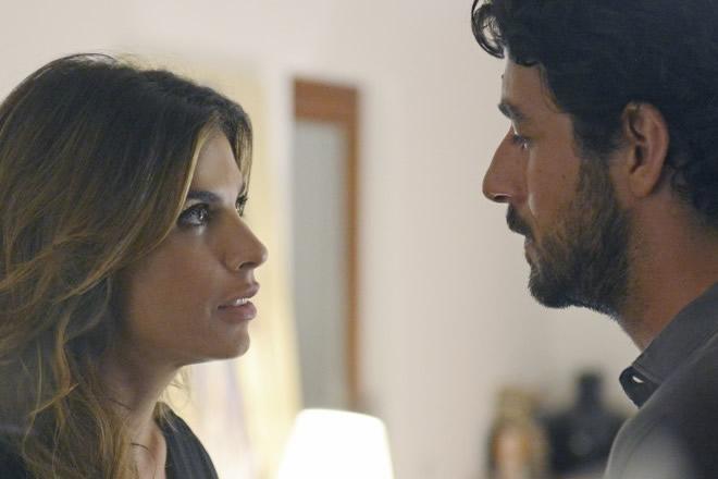 Elisabetta Canalis e Michele Rosiello. Foto da Ufficio Stampa