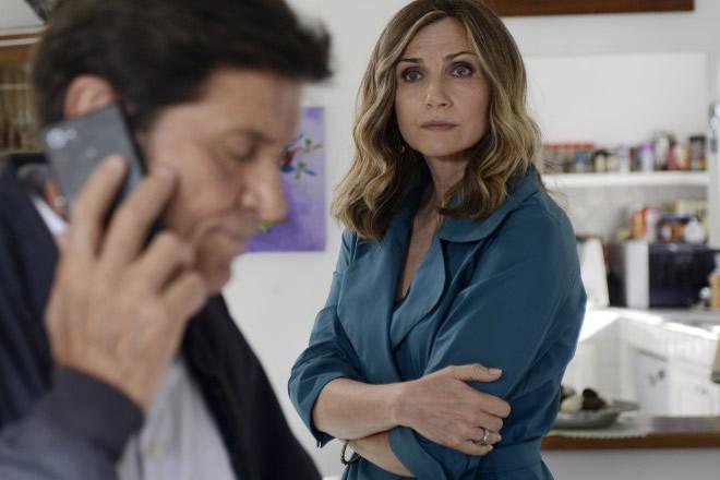 Gianni Morandi e Lorella Cuccarini. Foto da Ufficio Stampa