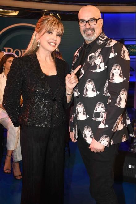 Giovanni Ciacci e Milly Carlucci