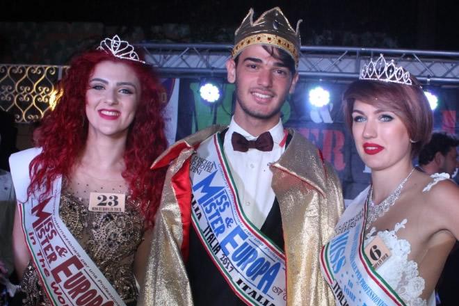 I finalisti di Miss e Mister Europa 2018