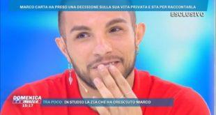 Marco Carta a Domenica Live