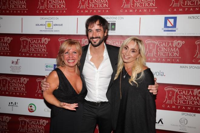 Maridi Vicedomini, Iago Garcia ed Ester Gatta