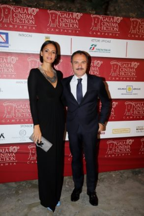 Massimiliano Gallo e Shalana Santana