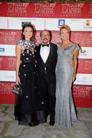Maurizio Casagrande con Valeria Della Rocca e Tiziana de Giacomo