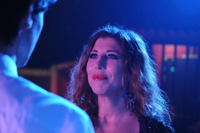 Michela Andreozzi in La notte è piccola per noi. Foto da Ufficio Stampa