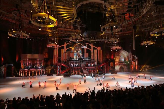 Romeo e Juliet on ice. Foto di Naybich Sergey Valerievich