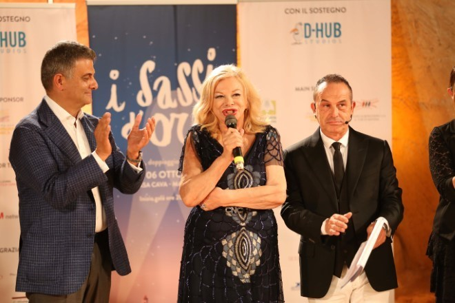 Sandra Milo e Antonio Giuliani a I Sassi d'Oro 2018