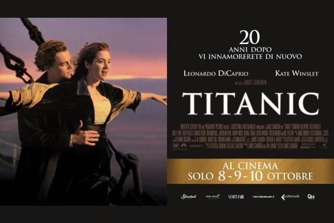 Titanic al cinema 20 anni dopo