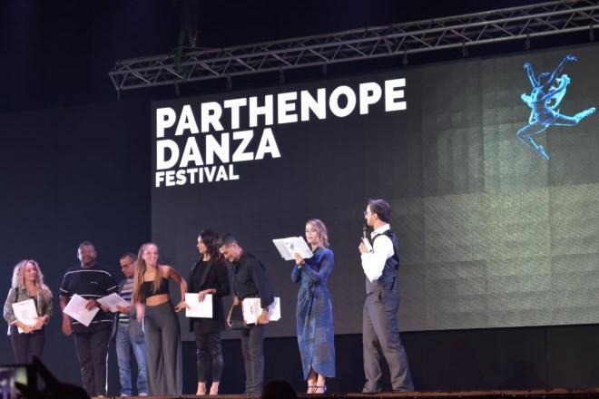 Un momento delle premiazioni di Parthenope Danza Festival 2018