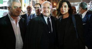 Vincenzo De Luca e Luisa Ranieri per La notte dei ricercatori