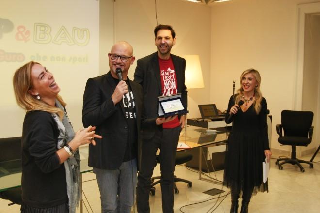 Carolina Giancotti, Marco Critelli, Francesco Russo e Silvana De Dominicis