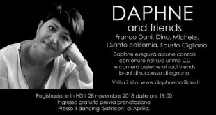 Daphne and friends in scena ad Aprilia
