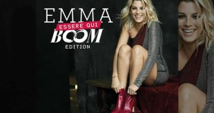 Emma Marrone - Essere Qui Boom Edition. Foto di Tony Thorimbert.