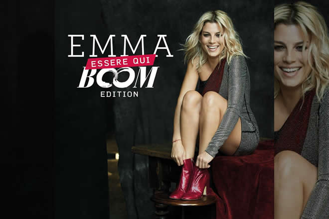 Emma Marrone - Essere Qui Boom Edition. Foto di Tony Thorimbert.