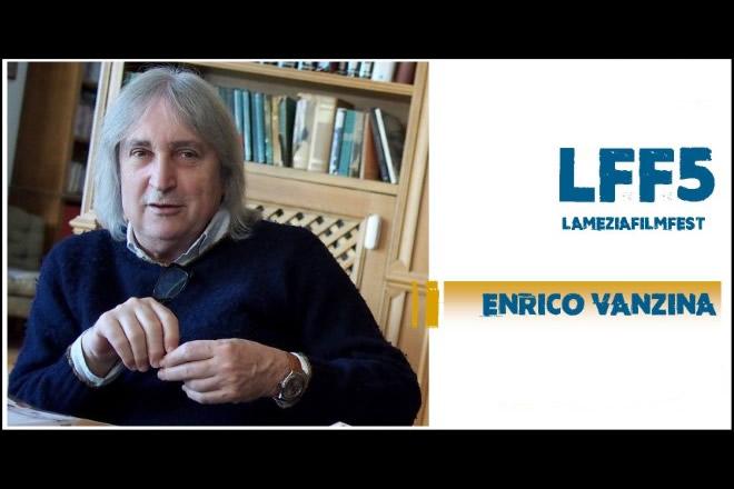 Enrico Vanzina al Lamezia Film Fest 2018. Foto da Facebook