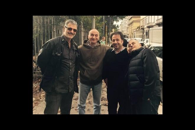 Il cast di Mai dire talk. Foto dal Web