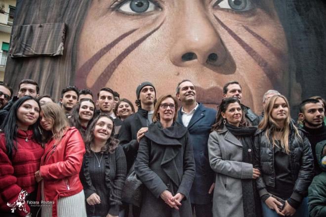 Il Murales Di Jorit Dedicato A Ilaria Cucchi La Gazzetta Dello