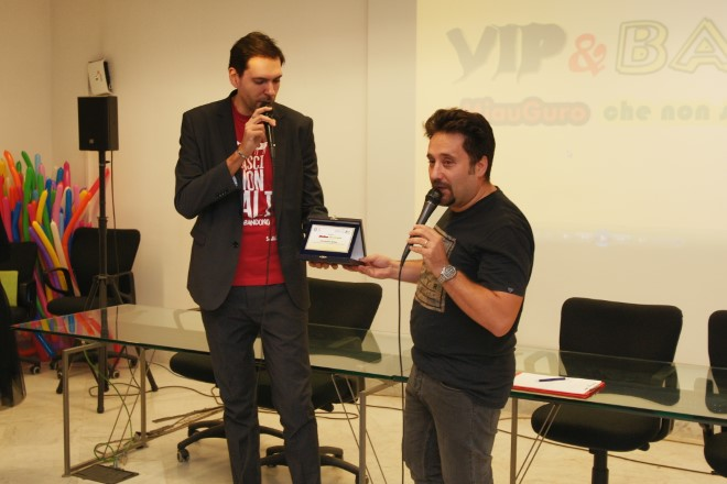 Il premio ad Alessandro Bolide