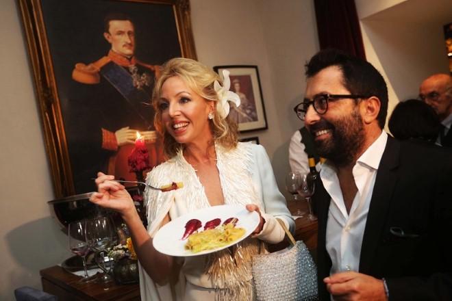 La principessa di Borbone mangia la genovese. Foto di Paola Tufo