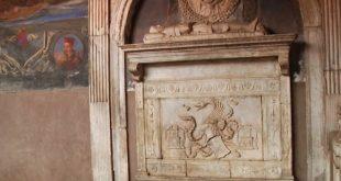La tomba in questione dove sarebbe sepolto il Conte Dracula. Foto da Ufficio Stampa.