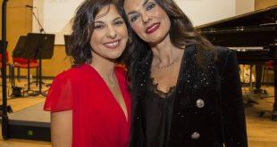 Pamela d'Amico e Maria Grazia Cucinotta per Storie di Donne. Foto da Facebook
