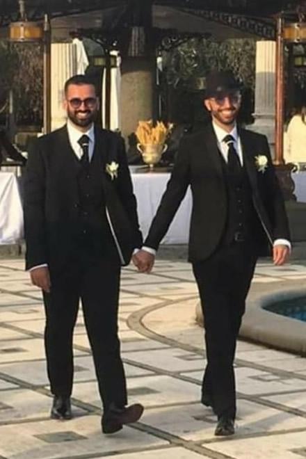 Simone Ripa e Stefano Riccardi. Foto concessa dagli intervistati