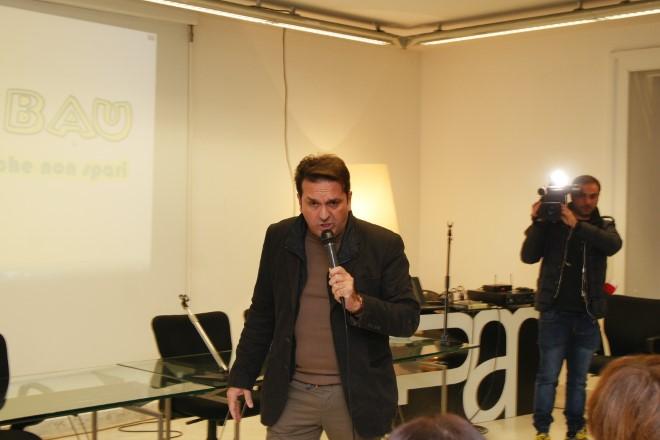 L'esibizione di Stefano Sannino