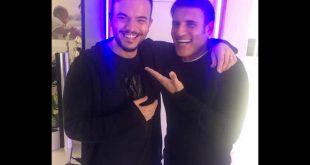 Andrea Sannino e Sal Da Vinci. Foto da Facebook