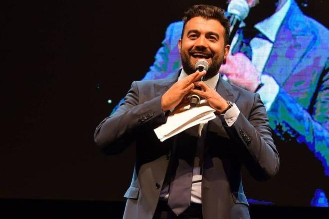 Andrea Volpe presenterà il Capodanno 2018 a Salerno