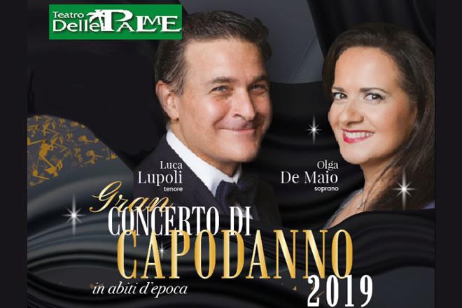 Capodanno 2018 al Teatro Delle Palme