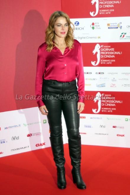 Claudia Gerini alle Giornate del Cinema di Sorrento